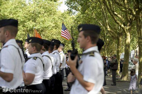 Commémoration Aout 2012 : Le 16 août 1944, la ville d'Orléans était libérée par les troupes américaines 80324710