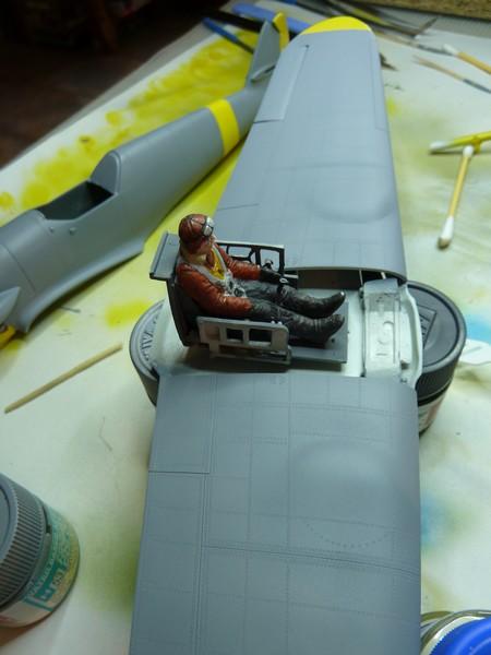 Messerschmitt BF109F 1/35ème P1090510