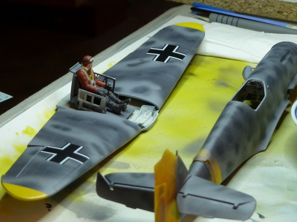 Messerschmitt BF109F 1/35ème P1090511