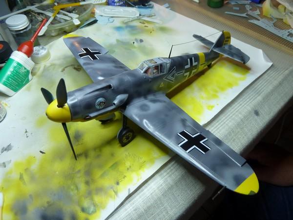 Messerschmitt BF109F 1/35ème P1090513