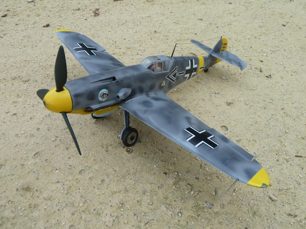 Messerschmitt BF109F 1/35ème P1090514