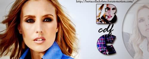 Club de fans Oficial de Berta Collado - Todos sus programas, reportajes,fotos,vídeos,noticias...