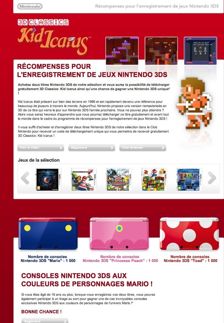 Participez à notre opération spéciale pour recevoir gratuitement 3D Classics: Kid Icarus ! Captur10