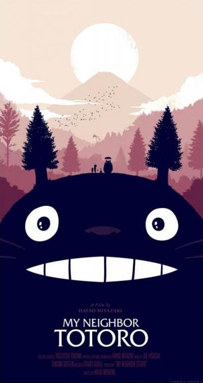 Mon voisin Totoro (1988) Totoro11