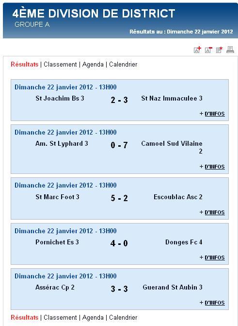 Résultats et Classements après la phase aller des matchs des Seniors A, B et C - Dimanche 22 janvier 2012 Sag_se25
