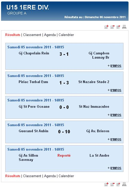 Résultats et classements des U17,  U15, U14 Ligue et des U13 A et B (dimanche 06 novembre 2011) Sag_u112