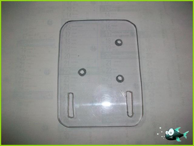 Support écho-sondeur pour float tube 100_2923