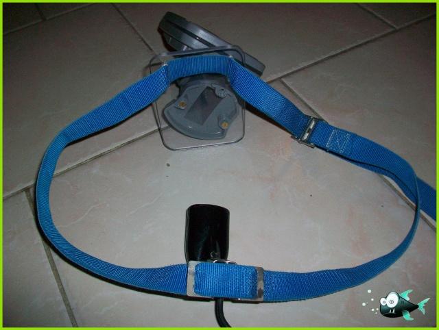 Support écho-sondeur pour float tube 100_2924