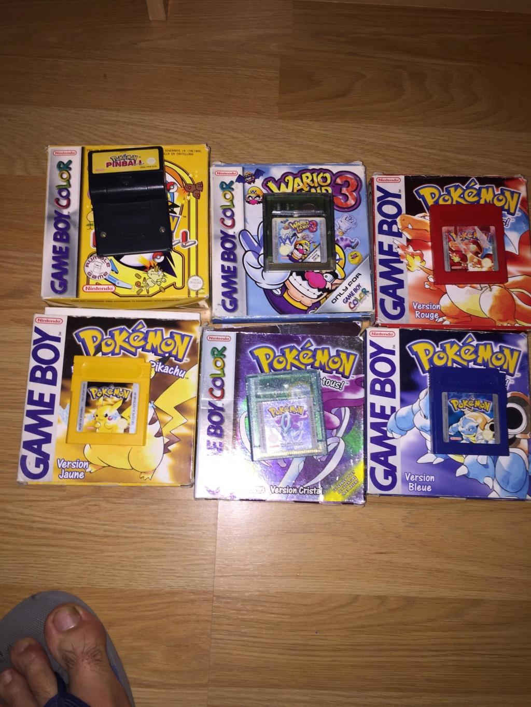 [EST] lot pokemon GB Receiv10