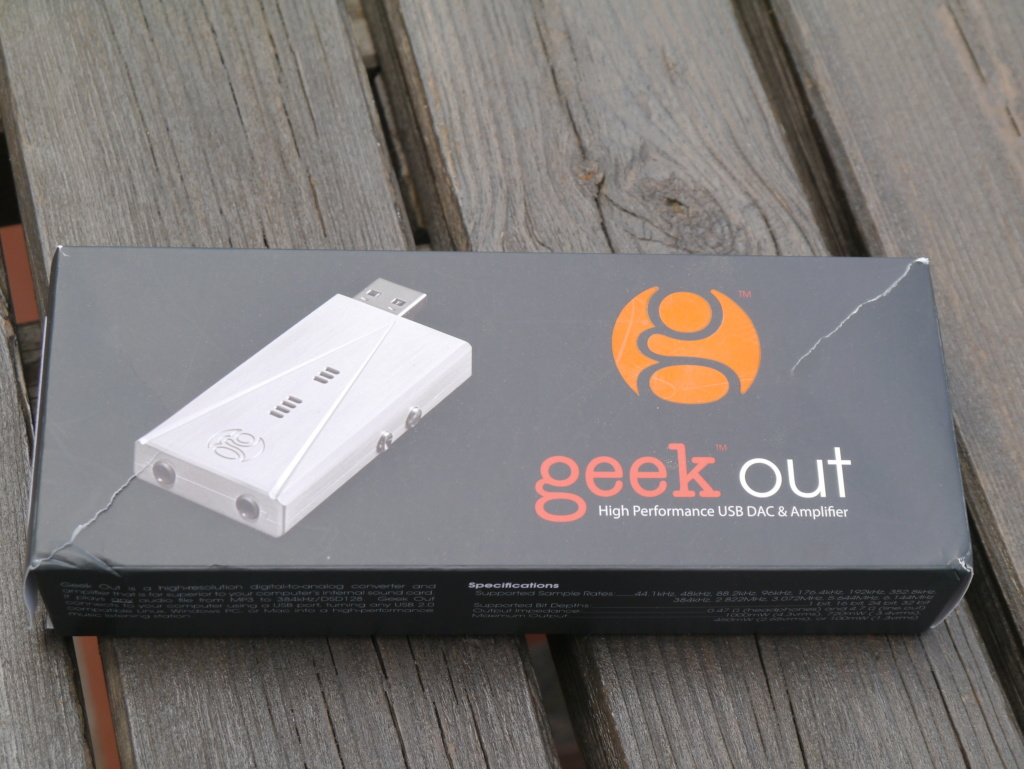 LH Labs Geek Out 450 USB DAC and Amplifier, silver, MADE IN USA, 60 € + s.s. P1060213