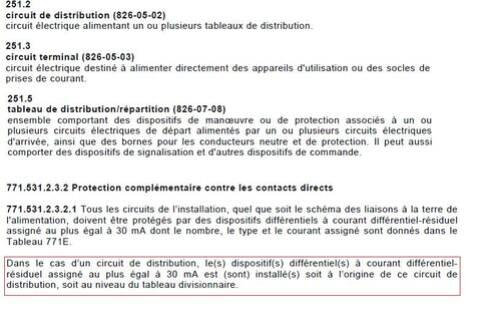 Tableau Secondaire Et Nf C 15 100