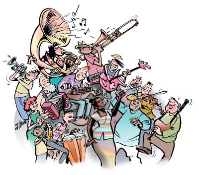 Fête de la  musique Dessin10