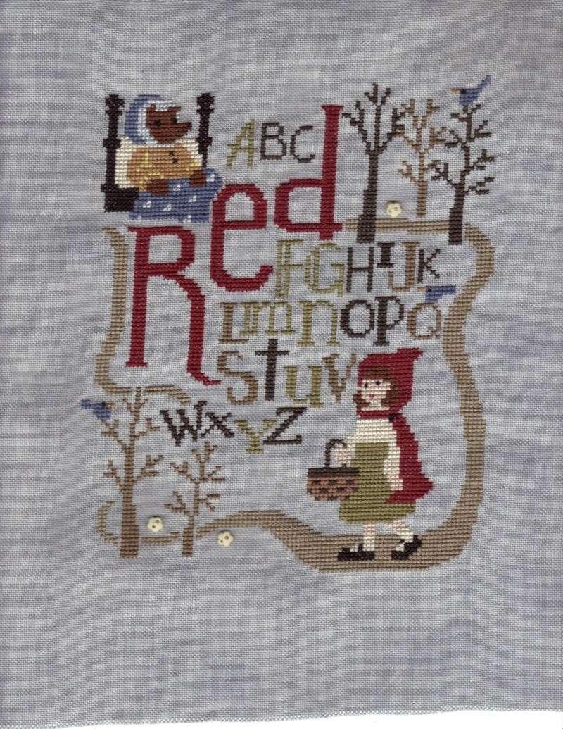 """SAL """"Petit Chaperon Rouge"""" de Bent Creek  -  ***TERMINE*** 01-07-10"""