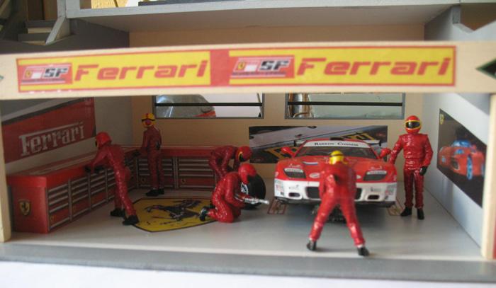 dio de stand F1 Ferrar12
