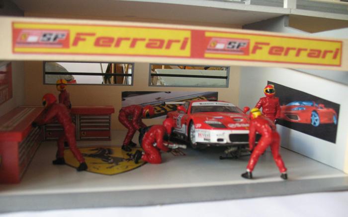 dio de stand F1 Ferrar13