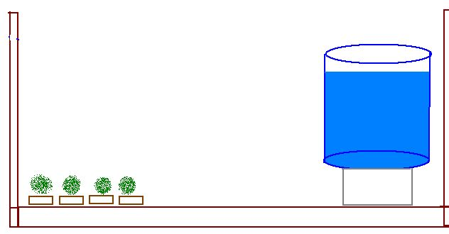 Automatic watering system with no outside tap Irriga10