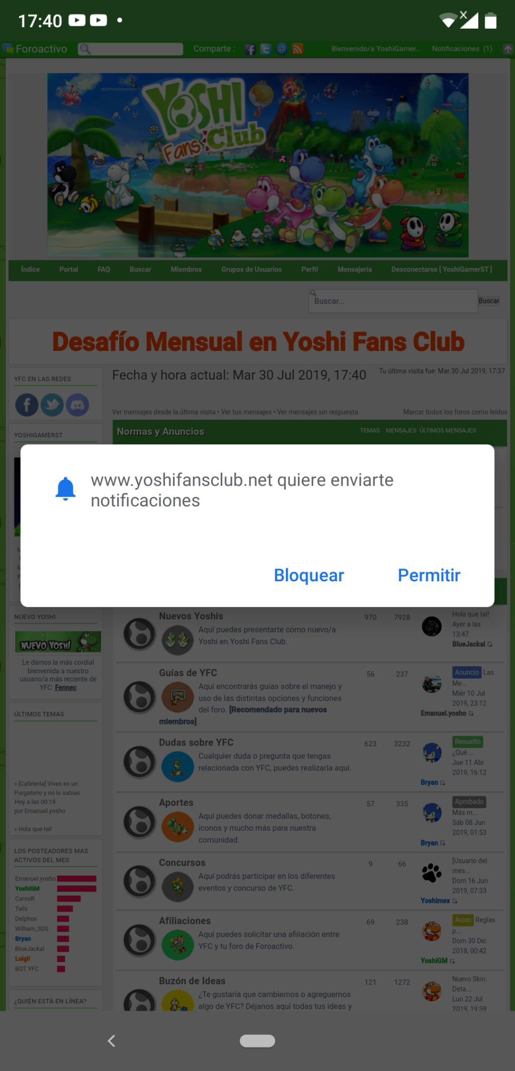 [Anuncio] Nueva Aplicación Web de YFC Screen11