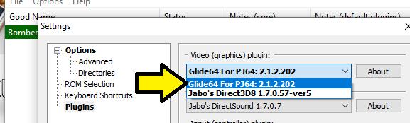 Tutorial: Cómo arreglar los bugs gráficos en Project64 Tutopj10