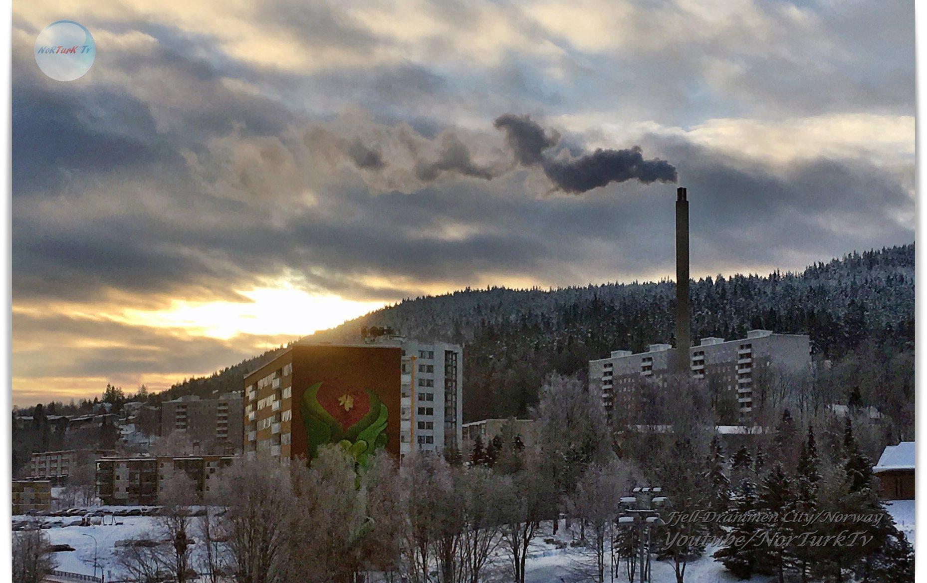 Günbatımı Aralık 2018-Drammen City Norway 48403810