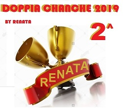 Premi vincitori Doppia Chance 2019 1renat11