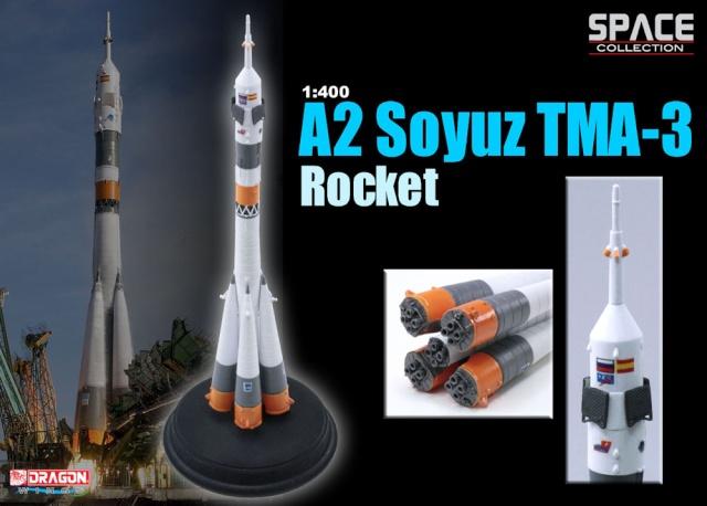 A2 Soyouz TMA-3 [Dragon Models 1/400] 5624010