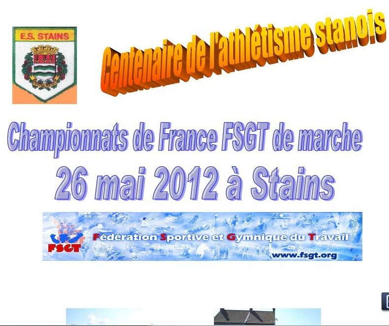 26 mai à stain avec la fsgt Marche10