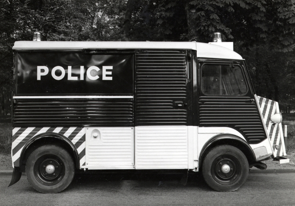 "Citroën ""H"" Police 1961-c10"