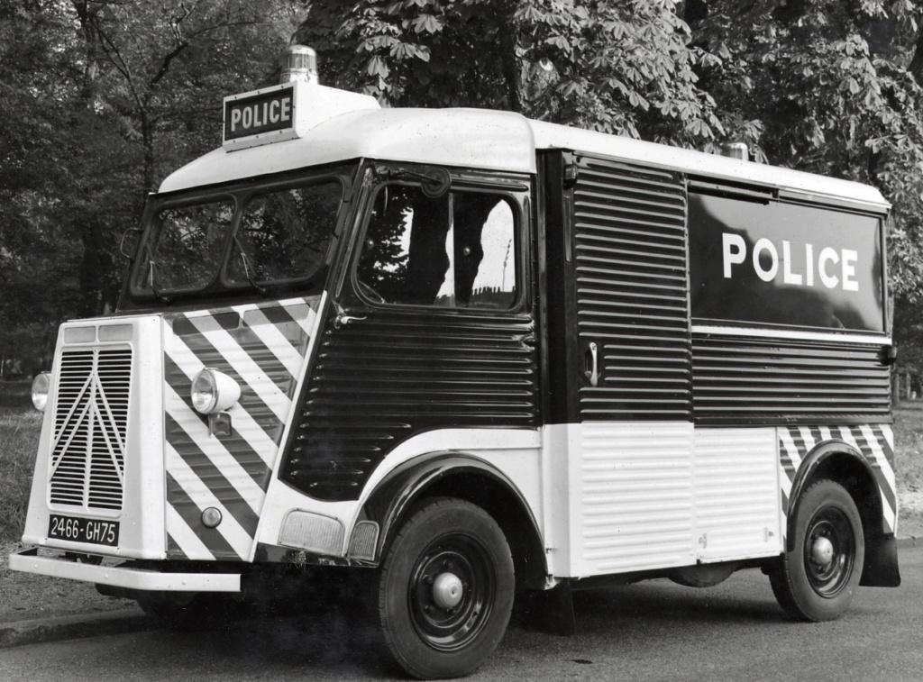 "Citroën ""H"" Police 1961-c11"