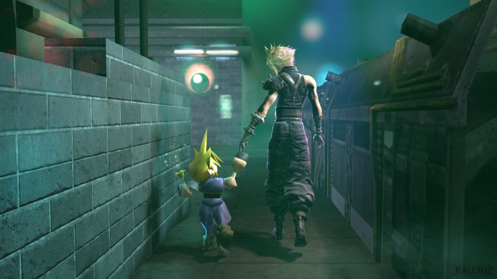 Artbook en français pour Final Fantasy VII Cloud-10
