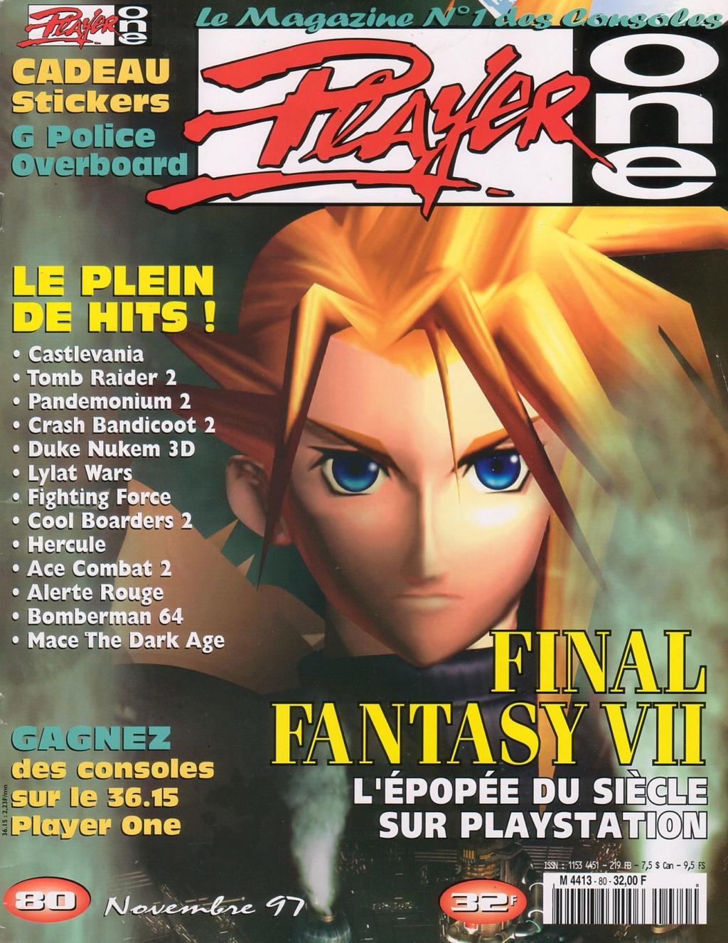 Le 17 novembre 1997 Player10