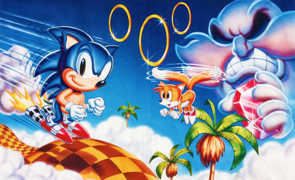 *TOP 10 des jeux de shoot (Shoot'em up)* Sonic_10