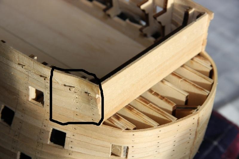 Martin Baubericht Victory aus Holz 1:84 131010
