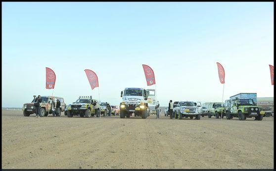 Rallye Aïcha des gazelles 2012 Depart10
