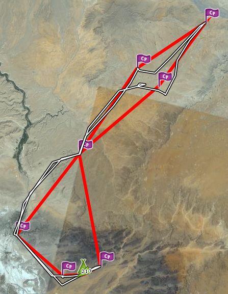 Rallye Aïcha des gazelles 2012 Parcou10