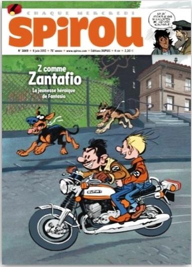 Spirou ... le journal Jspi110