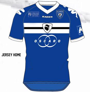 Les nouveaux maillots du SC Bastia. Domici10