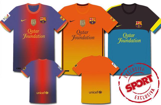 Les maillots du Barca.. Nouvea10