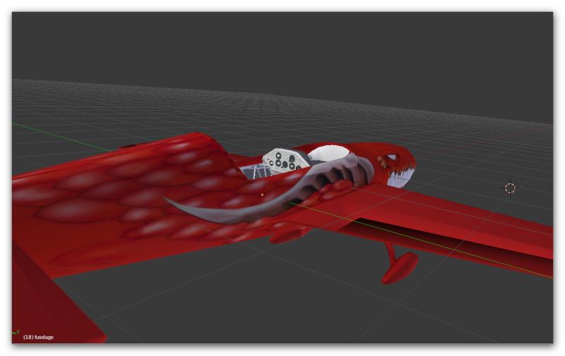 Projet : Un avion école de voltige, l'extra 300 L 214