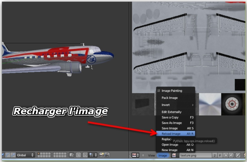 Visionner vos textures dans Blender 6-rech10