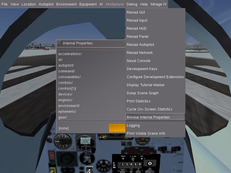 Cours : Les rotations dans Flightgear Fgfs-s10