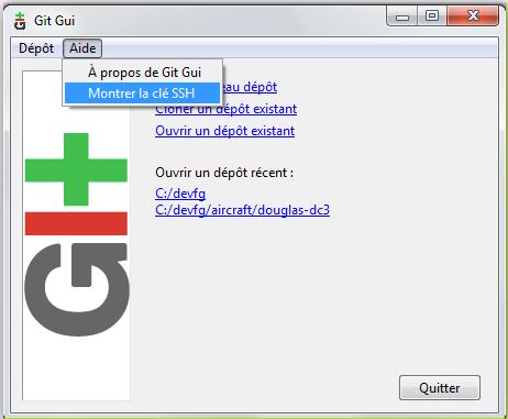 Contributions : le dépôt GIT de la PAF Git10