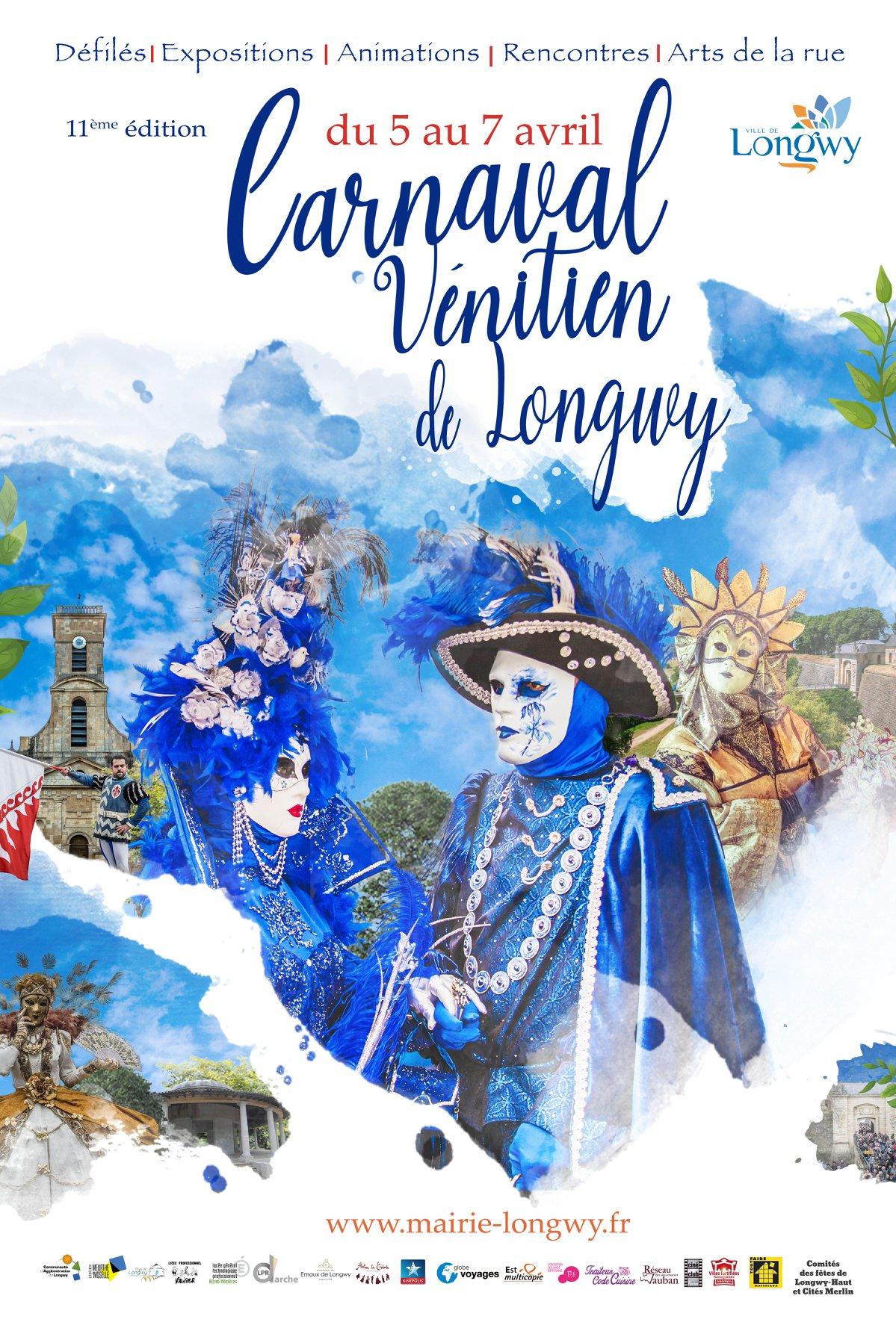 Sortie au carnaval vénitien de Longwy, le samedi 06 avril 2019 19040610