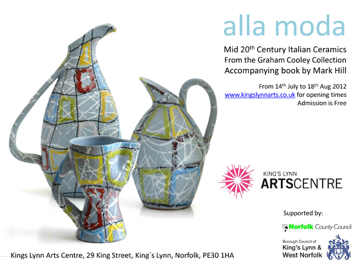 Alla Moda: Italian Ceramics of the 1950s-70s Exhibition Allamo10