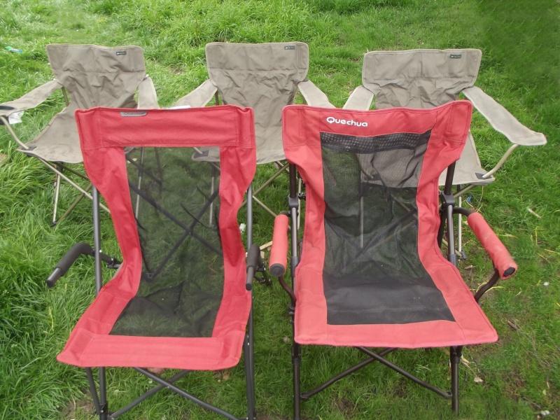 decathlon - [vendus] - Vends 5 fauteuils de camping Decathlon Dscf1710