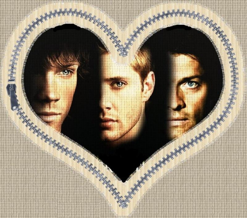 Castiel - Supernatural/Deux frères et un ange/Dean-Sam-Castiel/G Scsd10