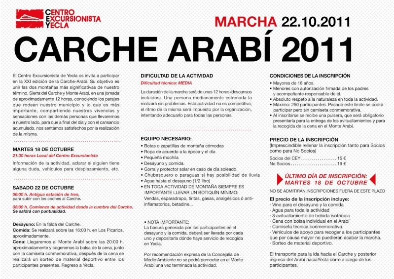 Carche-Arabí 2011 Inform11