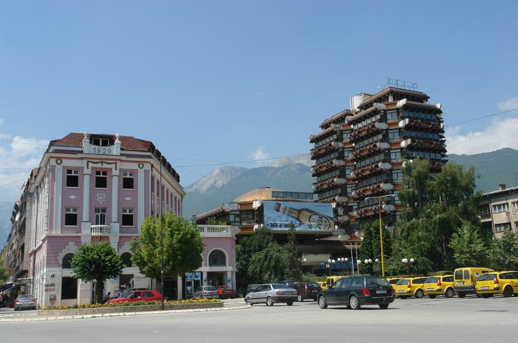 The city of Peja Peja10