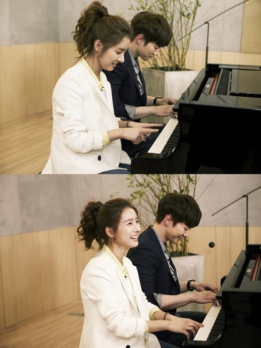 [19.03.12] [PICS] Junho & Kim So Eun - Music and Lyrics M10
