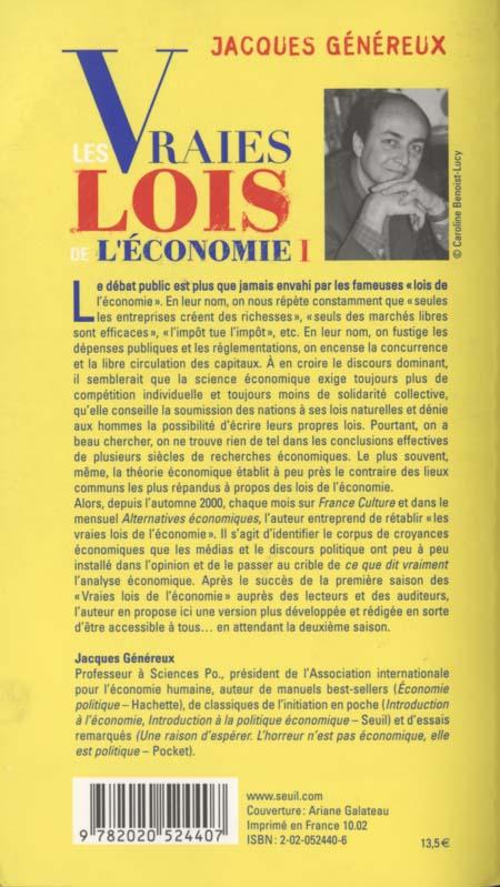 Jacques Généreux Couver11
