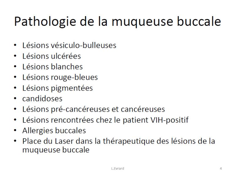 buccale - Pathologie de la muqueuse buccale Muqueu10